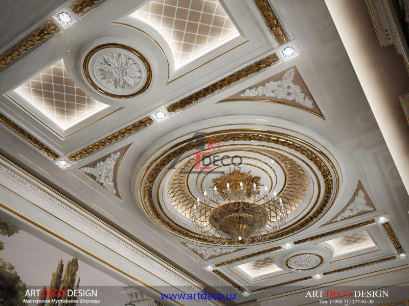 Дизайн потолков в Ташкенте